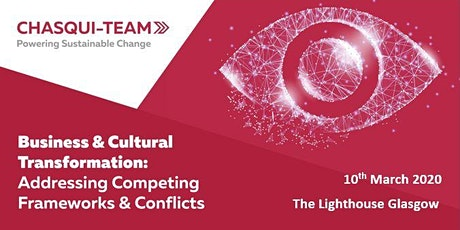 Business & Cultural Transformation: Competing Frameworks & Conflicts tickets