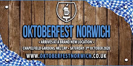 Oktoberfest Norwich 2020 tickets