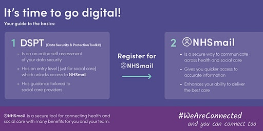 Getting Digital: The Data Security and Protection Toolkit & NHS Mail
