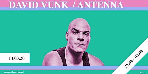 David Vunk / Antenna - Skatecafe