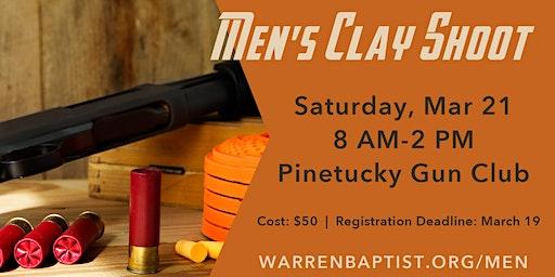 Men's Clay Shoot