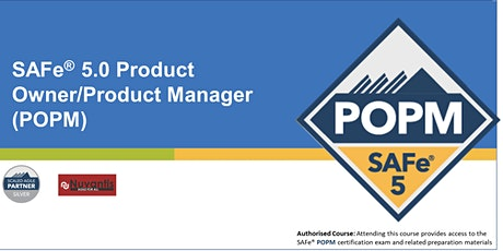 SAFe® Product Owner/Product Manager 5.0 ( Edison, NJ) - Confirmed to Run tickets