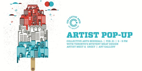 Artist Pop Up with Mystery Meat Design tickets