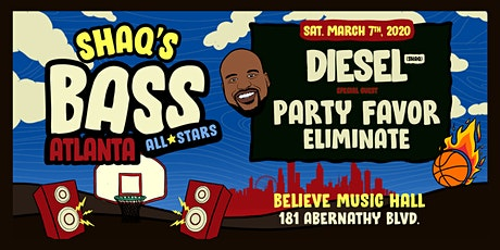 Shaq's Bass All Stars: DJ Diesel (Shaq) w/ Party Favor & Eliminate| IRIS at Believe | Sat Mar 7 tickets