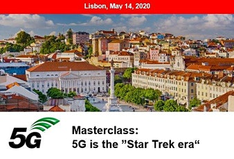 5G Masterclass 2020 - LISBON bilhetes