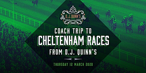 Coach Trip to Cheltenham Races from DJ Quinns