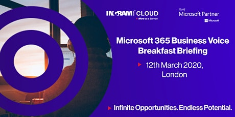 IMC Microsoft 365 Business Voice & Collaboration Breakfast Briefing tickets