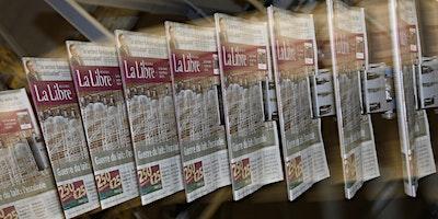 Visite de la rédaction et de l'imprimerie de La Libre Belgique 2020