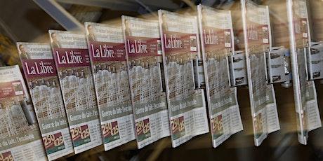 Visite de la rédaction et de l'imprimerie de La Libre Belgique 2020 billets