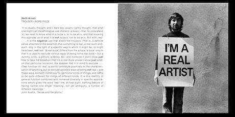 Keith Arnatt's Conceptualist Critique of Conceptual Art tickets