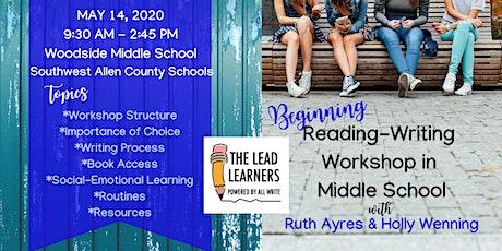 6-8 Beginning Reading-Writing Workshop tickets