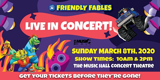 Friendly Fables - Live In Concert - 2pm Show