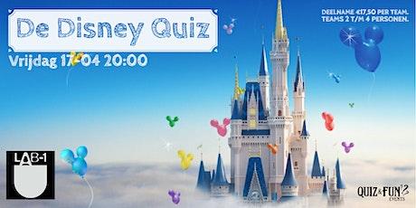 De Disney Quiz | Eindhoven (Nieuwe datum  02-08) tickets