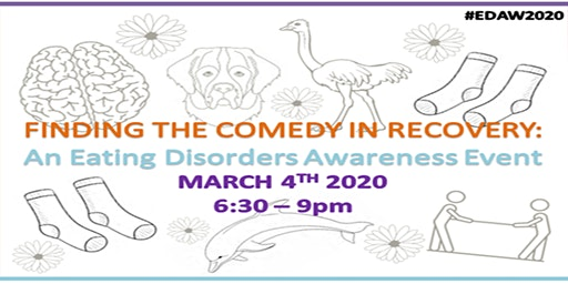 Eating Disorders Awareness Week 2020 - Finding the Comedy in Recovery
