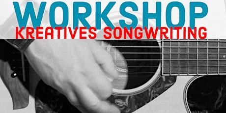 Kreatives Songwriting - Interessante Liedbegleitung mit der Gitarre Tickets