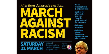 M21 - MARCH AGAINST RACISM! tickets