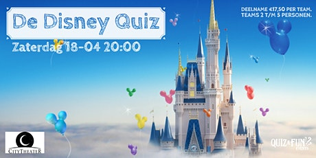 De Disney Quiz | Schijndel tickets