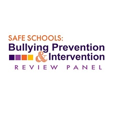Safe Schools: Bullying Prevention and Intervention Review Panel logo