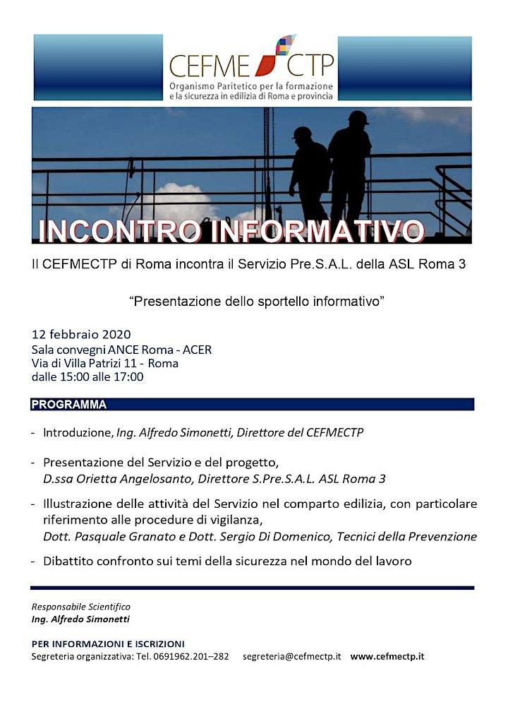 Immagine SALVA LA DATA 12 febbraio 2020  dalle 15:00 alle 17:00