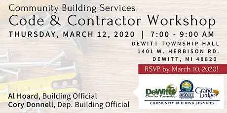 2020 Code & Contractor Conference tickets