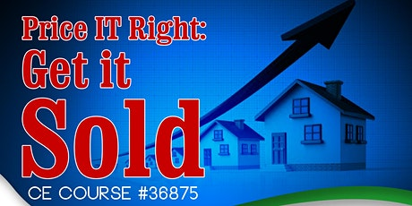 Price it Right: Get it Sold! tickets