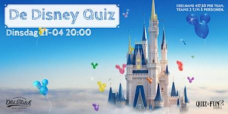 De Disney Quiz | Breda (nieuwe datum  4juli) tickets