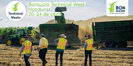 Bonsucro Technical Week Honduras entradas