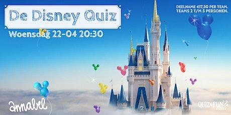 De Disney Quiz | Rotterdam (Wordt verplaatst) tickets