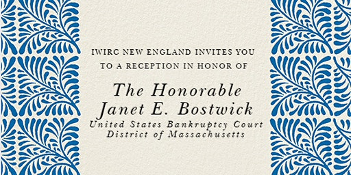 Reception in Honor of Judge Janet E. Bostwick