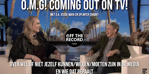 Off the Record: O.M.G! Coming out on TV!