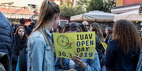 Iuav Open Day 2020:   ingresso con visita ai desk (I turno) biglietti