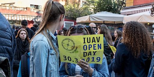 Iuav Open Day 2020:   ingresso con visita ai desk (I turno)