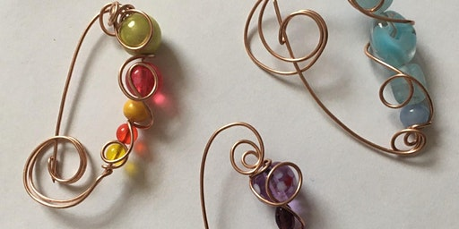 Wire Jewellery Workshop - Bead Brooches