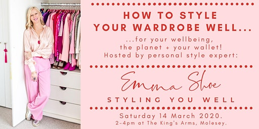East Molesey, Surrey WARDROBE STYLING Workshop