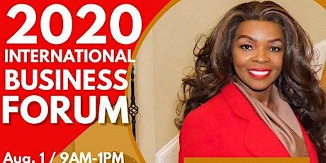 2020 INTERNATIONAL BUSINESS FORUM tickets