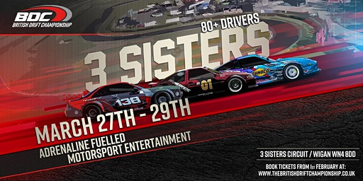 BDC - Three Sisters - Event 1 - Season Launch - (20% off Early Bird!)