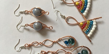 Wire Jewellery Workshop - Beaded Earrings tickets