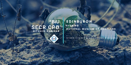 BiU Bitesize SECR CPD - Edinburgh, Evening tickets