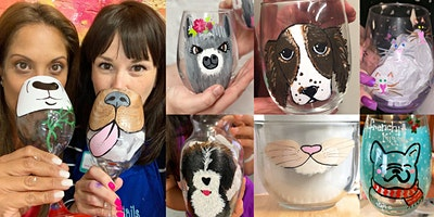 National Love Your Pet Day: Paint Your Pet on Drinkable Glassware!