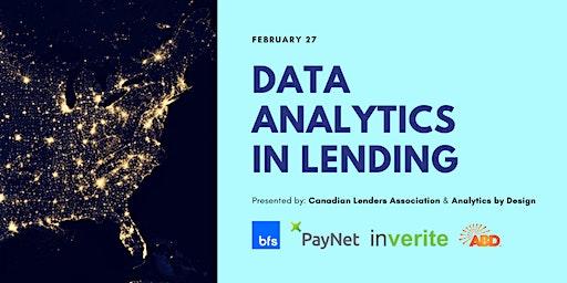 Data Analytics in Lending