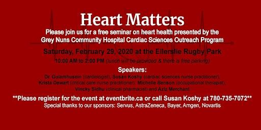 Heart Matters - Heart Health Seminar