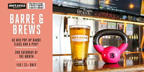 Barre + Brews at Metazoa Brewery tickets