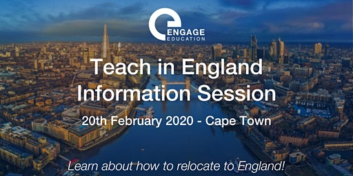 Teach in England  Information Session