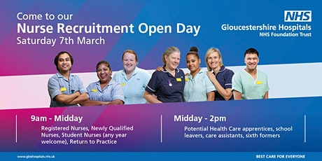 Nursing Careers Fair and Open Day tickets