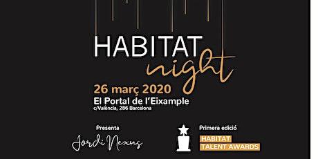 Habitat Night 2020, Talent Awards entradas