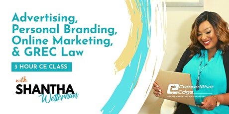 Advertising, Personal Branding, Online Marketing, & GREC Law tickets