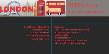 British Emergency Eye Care Society Annual Meeting 2020 tickets