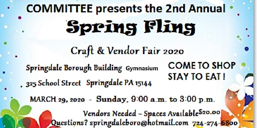 Springdale Borough Craft Fair