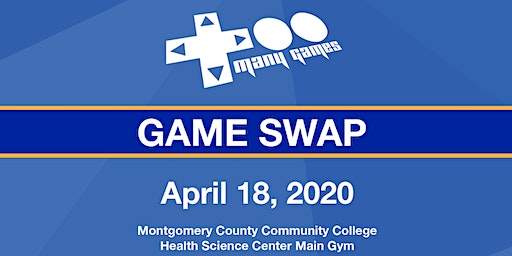 TooManyGames Spring Game Swap - Vendor Tables