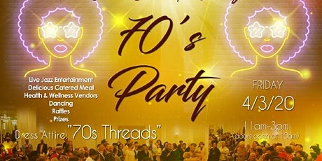 The 6th Annual  Senior Gala Extravaganza 70's Party tickets
